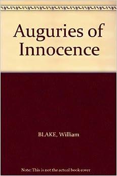 william blake auguries of innocence pdf