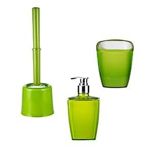 """Ridder 229903050-350 Ensemble de 3 accessoires """"Neon""""- Vert"""
