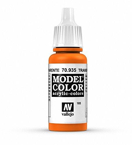 Vallejo Transparent Orange Paint, 17ml