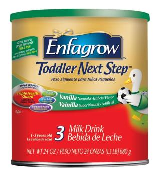 Designed to provide nutrients essential for the continued development of toddlers