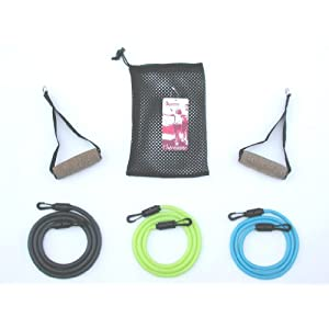 Latex Free Tension Band Workout Set