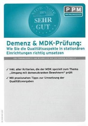 Demenz & MDK-Prüfung stationär von Annett Urban