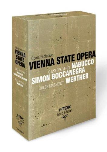 Verdi - Nabucco/Simon Boccanegra/Massenet - Werther [3 DVDs]