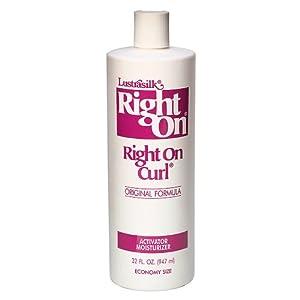 Amazon.com : Lustrasilk Right On Curl Original Formula Curl Activator