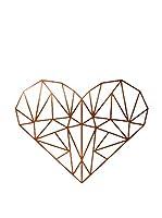 Surdic Vinilo Decorativo Heart Cobre