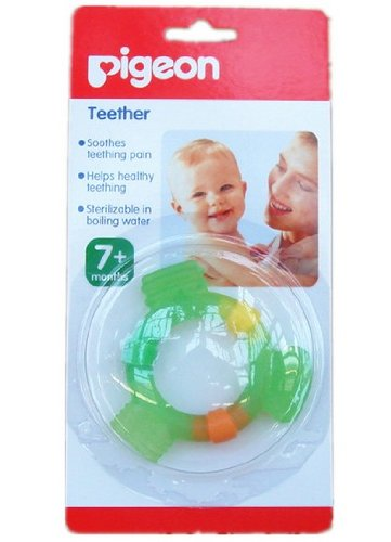 Baby Training Silicone Teether Bpa Free(Made In Japan) (L) front-862695