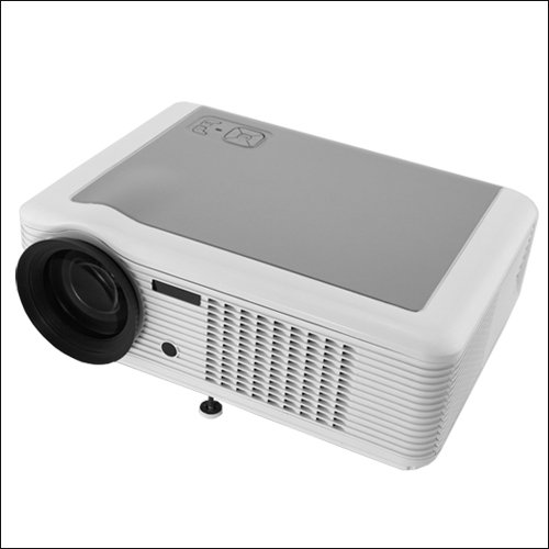 WhiteHD Home Theater 1080P LCD PROJECTOR LED HDMI WII PS3 TV With CE FCC ROHS