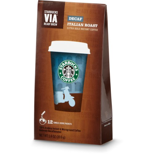 Starbucks VIA® Ready Brew Decaf Italian Roast Coffee by Starbucks Coffee