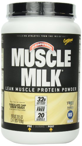 Cytosport Musle Milk, Chocolate Chip Cookie Dough, 2.47-Pounds