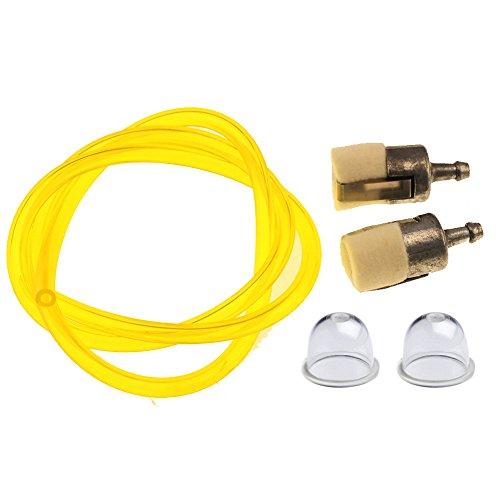 HIPA Primer Bulb + Fuel Filter + Fuel Line Hose Tube for HONDA GX22 GX25 GX31 GX35 Rototiller String Trimmer Brush Cutter (Honda Cultivator compare prices)