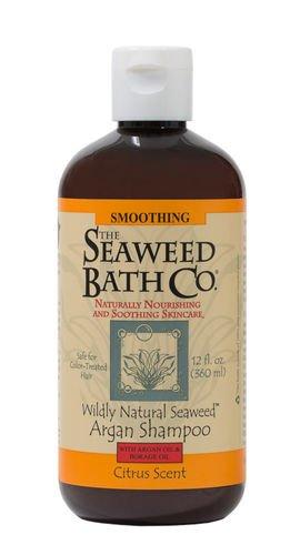 Wildly Natural Seaweed Argan Shampoo Citrus The Seaweed Bath Co. 12.0 Oz Liquid