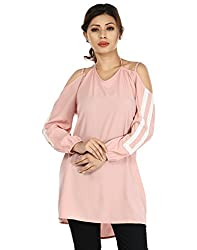 InDzone Solid Women's Tunic  (Large)