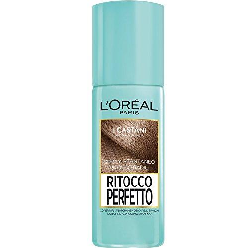 L'Oréal Paris Ritocco Perfetto Spray Istantaneo Ritocco Radici, Castano