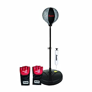Franklin Sports Youth MMA Floor Standing Speed Bag (46 x 15-Inch)