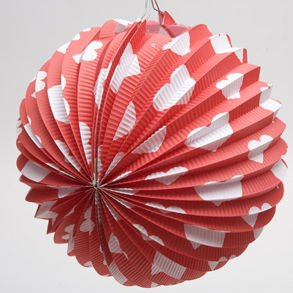 Valentine Paper Balloon Decorations