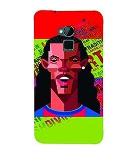 PrintVisa Sports Football 3D Hard Polycarbonate Designer Back Case Cover for HTC One Max