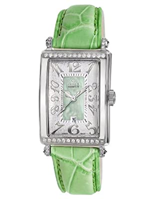 Gevril Women's 7246NT Avenue of Americas Green Diamond Watch from Gevril