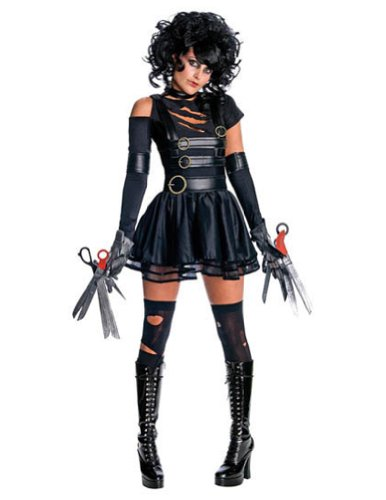 Adult-Costume Miss Scissorhands Xs Halloween Costume - Adult Extra Small