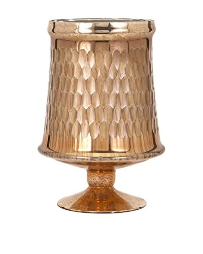 Small Lydia Copper Glass Pedestal