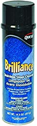 Quest Brilliance Stainless Steel Cleaner and Polish Aerosol - 14.5 oz