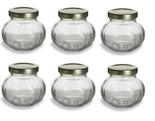 4oz Round Mini Glass Jars