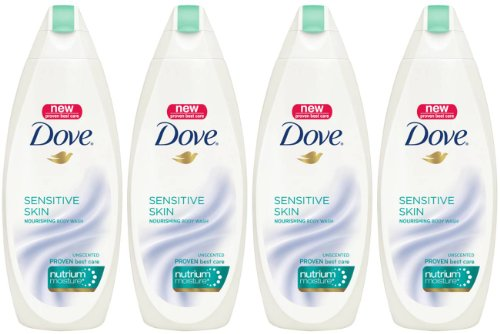 Dove Body Wash  NutriumMoisture, Sensitive Skin,