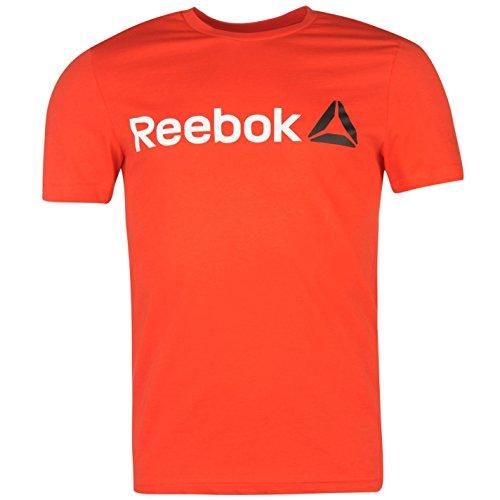 Reebok -  T-shirt - Uomo rosso Medium