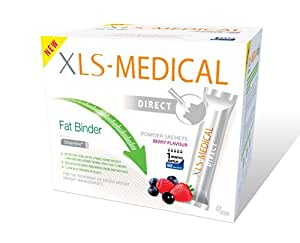 XLS Medical Fat Binder Direct Weight Loss Aid - 1 Month Supply Pack, 90 Sachets