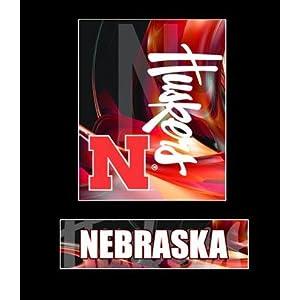 "Nebraska Cornhuskers NCAA Basketball 13"" X 15"" Framed Logo Wall Hanging"