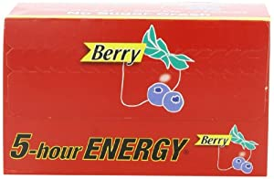 5-Hour Energy -  Berry 1.93-Ounce Packages (Pack of 12)