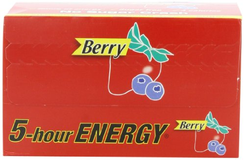5 Hour Energy 5-Hour Energy -  Berry 1.93-Ounce Packages (Pack of 12)