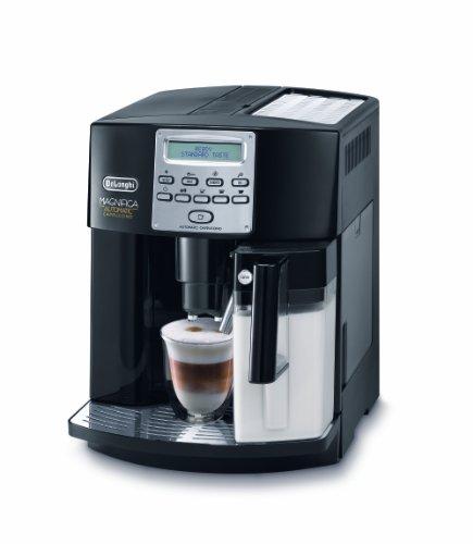 DeLonghi ESAM 3550 Kaffee-Vollautomat Magnifica (1,8L, 15 bar, integriertes Milchsystem) schwarz thumbnail