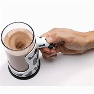 Taza mezcladora textura vaca  - Moo Mixer Supreme. Precio: $11.49