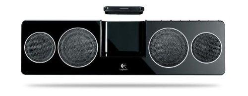 Logitech Pure-Fi Anywhere 2 Soundsystem für iPod/iPhone schwarz