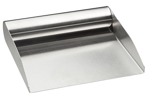 HIC Bench Scraper Shovel and Food Scoop, 18/8 Stainless Steel, 6-inch (Cooking Bench compare prices)