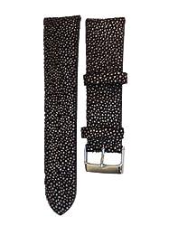 Brown Genuine Stingray Watch Strap - 18mm