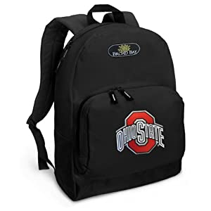 OSU Buckeyes Backpack Black Ohio State for Travel or School Bags - BEST QUALITY Unique Gifts For Boys, Girls, Adults, College Students, Men or Ladies
