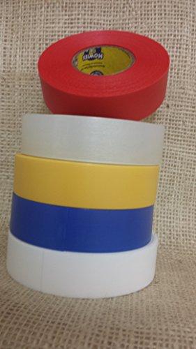 4-rouleaux-Howies-Transparent-chaussette-Shin-Pad-ruban-de-24-mm-x-30-m-Street-Rollers-en-ligne-de-Hockey-sur-glace