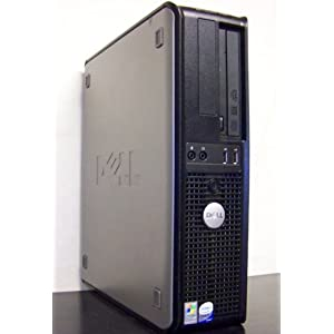 Dell Optiplex 745 Desktop Computer, Fast and Powerful Intel 3.0GHz Dual Core Processor, 2GB DDR2 Interlaced High Performance Memory, 160GB Super Fast 7200RPM SATA Hard Drive, DVD/CDRW, Record CDs and Watch DVD Movies, Intregrated Lan/Audio, Onboard Video, Wireless Capable (Adapter Sold Separately), Windows XP Installed with COA, Windows 7 Capable Usado $179.99