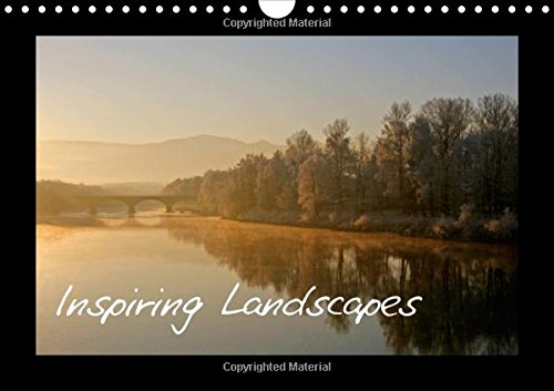 Inspiring Landscapes / UK-Version: Landscapes from Europe and America / Version for UK (Calvendo Nature)