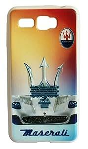 Vcare Shoppe Soft Silicon Printed Back case cover for Intex Aqua R3 - Maserati Logo