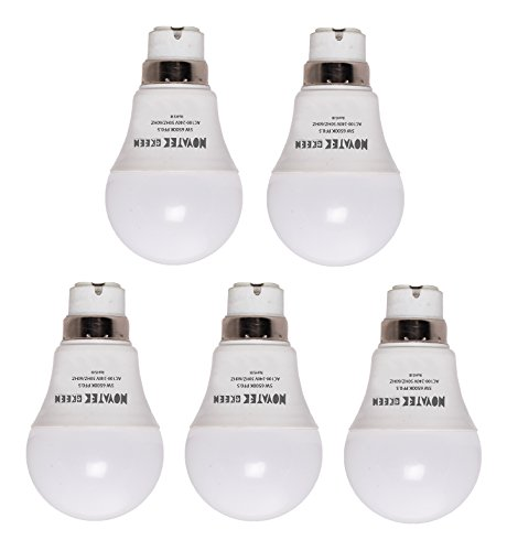 5W-LED-Bulbs-(Cool-White,-Pack-of-5)