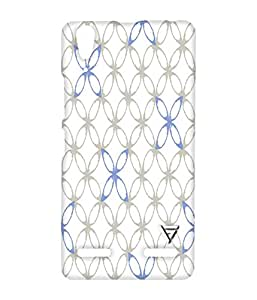 Vogueshell Circle Pattern Printed Symmetry PRO Series Hard Back Case for Lenovo A6000
