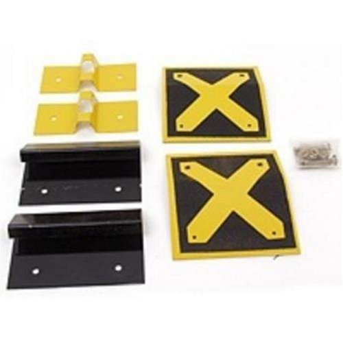 8-Inch to 10-Inch Deluxe E-Z Ramp Hardware Kit Includes Non-Skid Top Plate, 490-150-0002