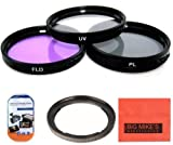 Big Mike'S 67Mm Filter Kit For Canon Powershot Sx500 Is 16.0 Mp Digital Camera Includes Filter Adapter + Ring Adapter + More!!