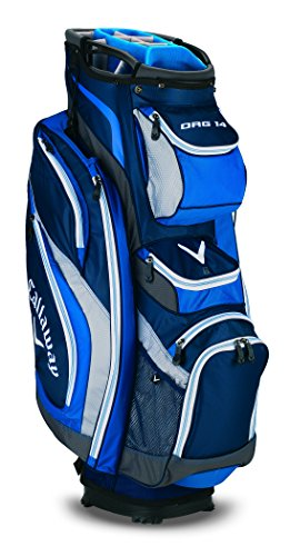 Callaway 2015 Org 14 Golf Cart Bag, Navy/Charcoal/White