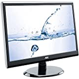 AOC E2250SWDNK 21.5 inch Widescreen LED Monitor (1920x1080, 5ms, VGA, DVI, i-Menu, e-Saver, Screen+, Kensington Security Lock)