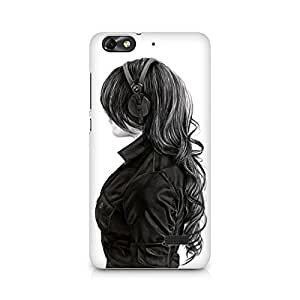 Mobicture Wallpaper Premium Printed Case For Huawei Honor 4C