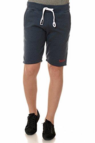M.Conte Sweat-Short Pants Uomo Pantaloni in Felpa corti Pinuccio Navy XXL