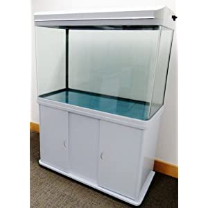 For sale 200l white cabinet aquarium fish tank tropical for Amazon fish tanks for sale